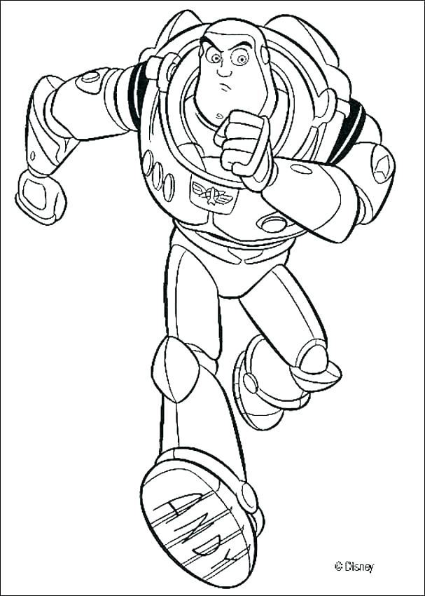 607x850 Buzz Lightyear Coloring Pages Buzz Coloring Book Buzz Coloring