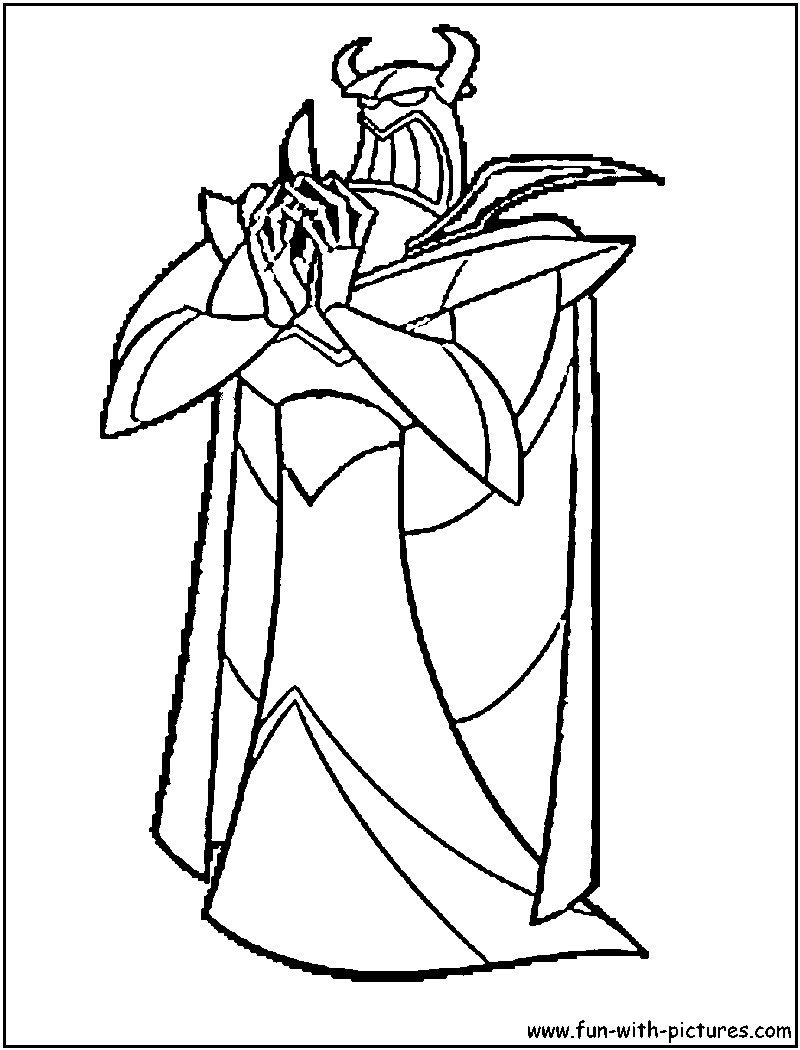 800x1050 Zurg Toy Story Coloring Pages Download Coloring For Kids