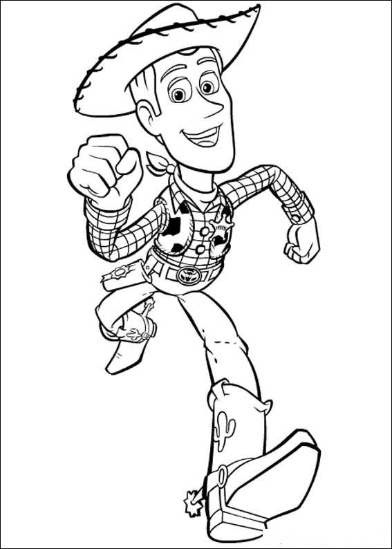 567x794 Kids N Coloring Pages Of Toy Story