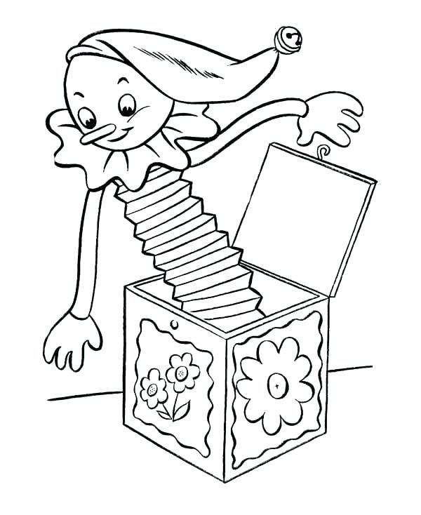 600x734 Box Coloring Page Misfit Toys Coloring Pages Misfit Toys Coloring