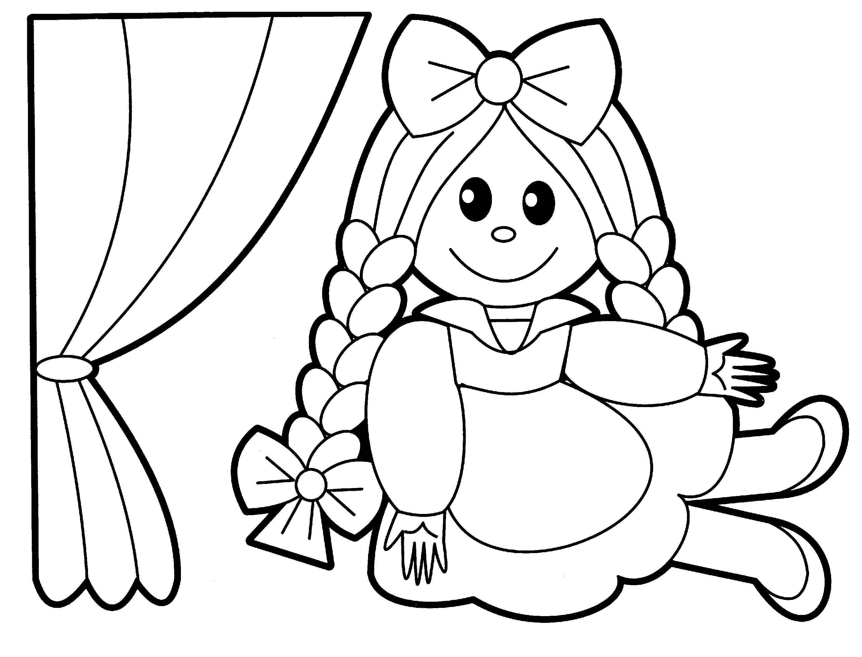 2930x2232 Toys Coloring Pages Preschool Collection