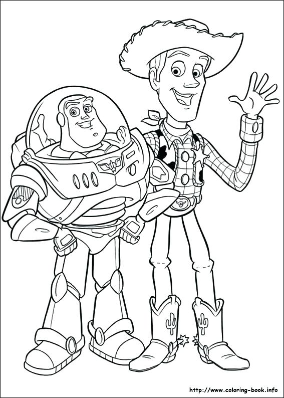 567x794 Toys Coloring Pages Toys Coloring Pages Epic Toys Story Coloring