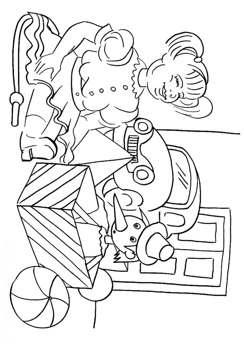 848x1200 Toys Coloring Pages