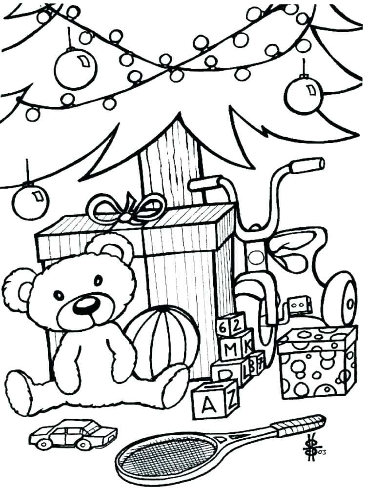 750x1000 Toys Coloring Pages