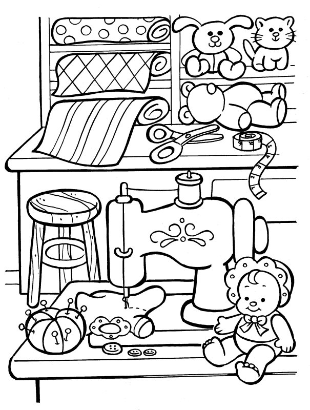 605x800 Christmas Coloring Pages