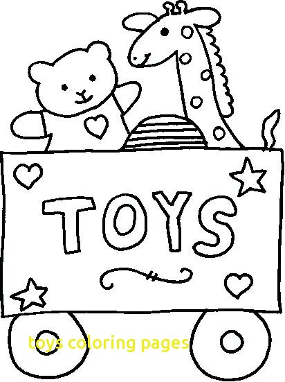 412x551 Coloring Pictures Of Toys Toys Coloring Pages With Coloring Pages
