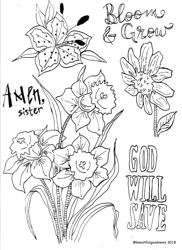 Traceable Coloring Pages