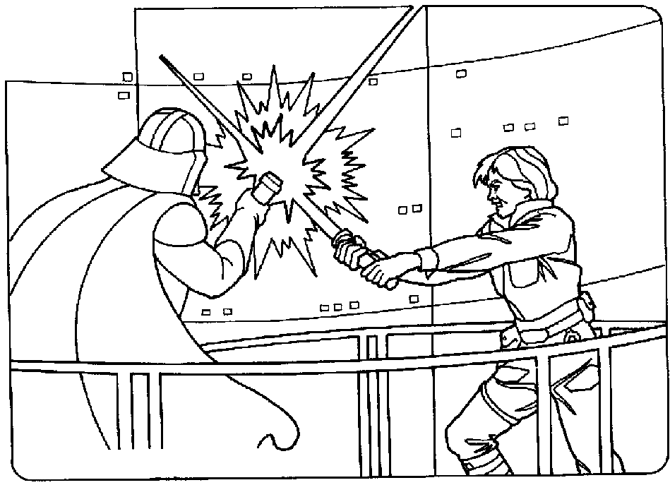 949x687 Luke Skywalker Coloring Pages Drawn Darth Vader Traceable