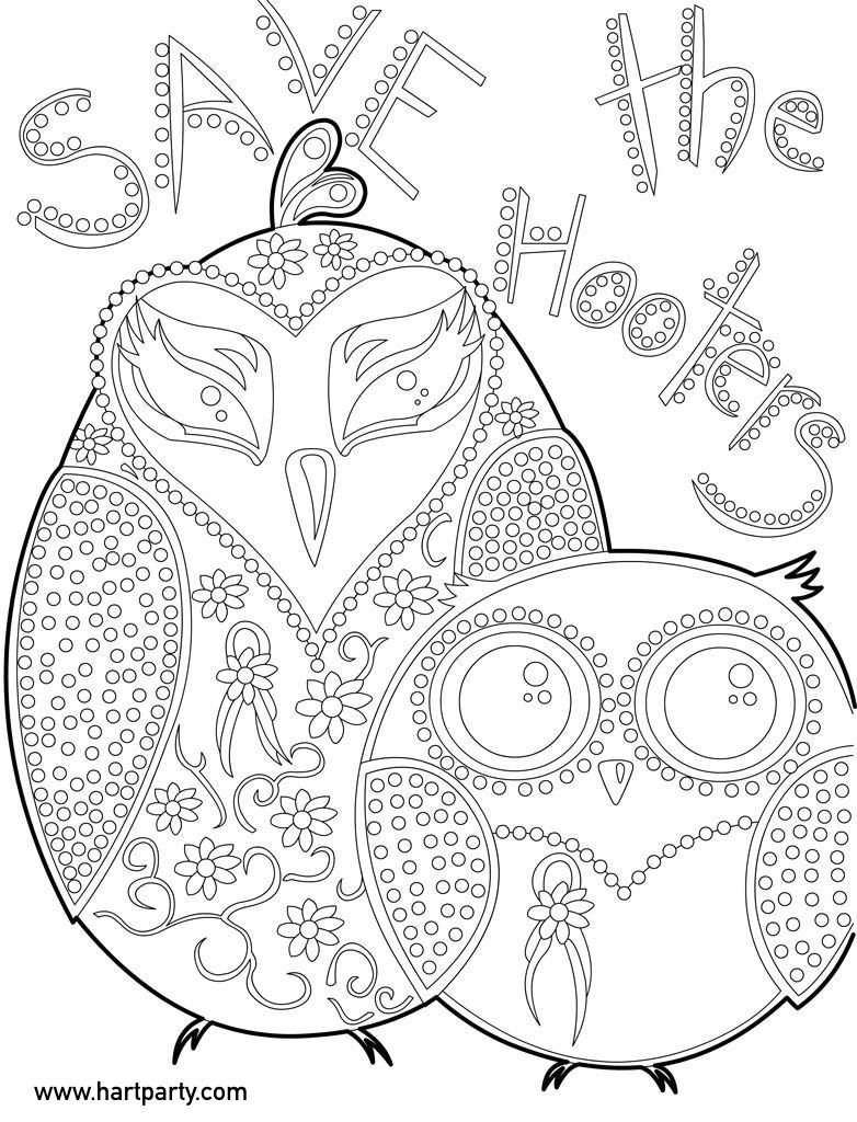 782x1024 Save Hooters Coloring Page And Traceable