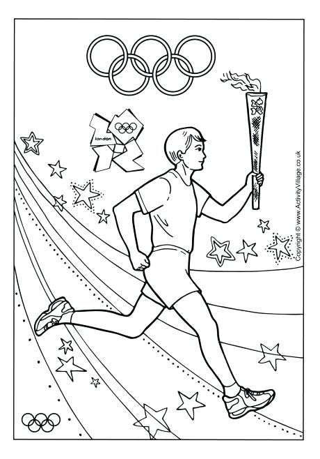 460x658 Track And Field Coloring Pages Games Coloring Pages Printable