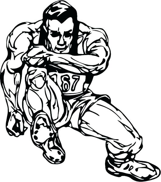529x600 Track And Field Colouring Pages Coloring Page Fuhrer Von
