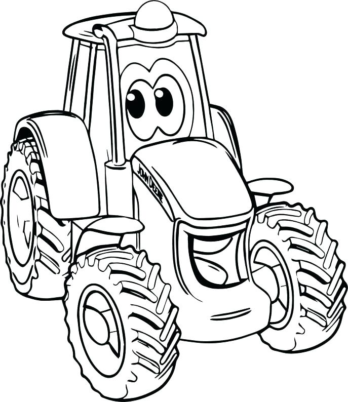 Tractor Coloring Pages at GetDrawings.com | Free for ...