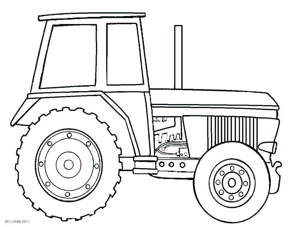 950x737 Tractor Coloring Free Printable Tractor Coloring Pages John
