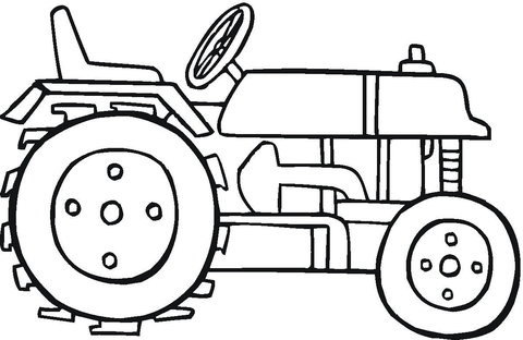 480x312 Tractor Coloring Pages Modern Tractor Coloring Page Free Printable