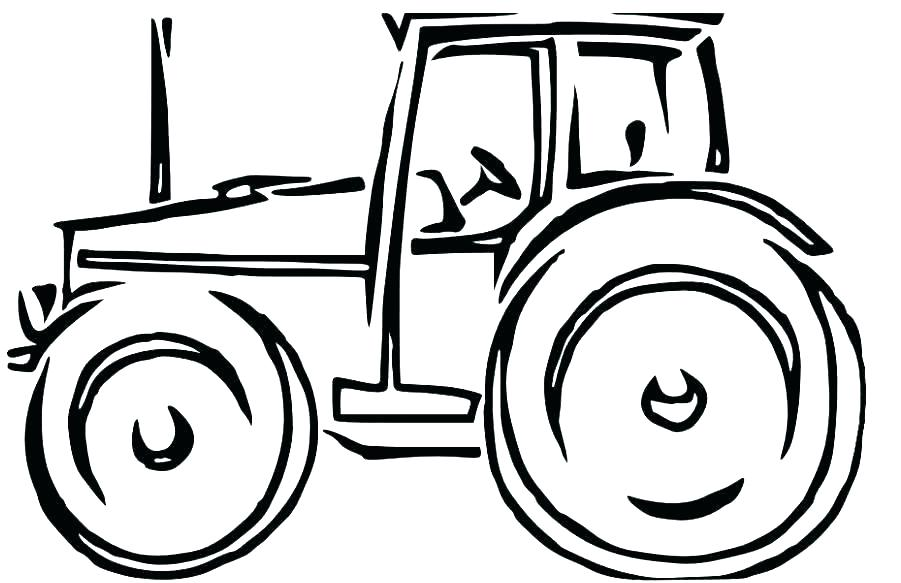 901x583 Coloring Pages Of Tractors