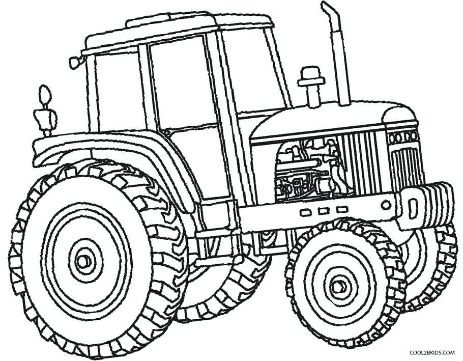 910x709 Free Printable Tractor Coloring Pages Tractor Color Pages Free