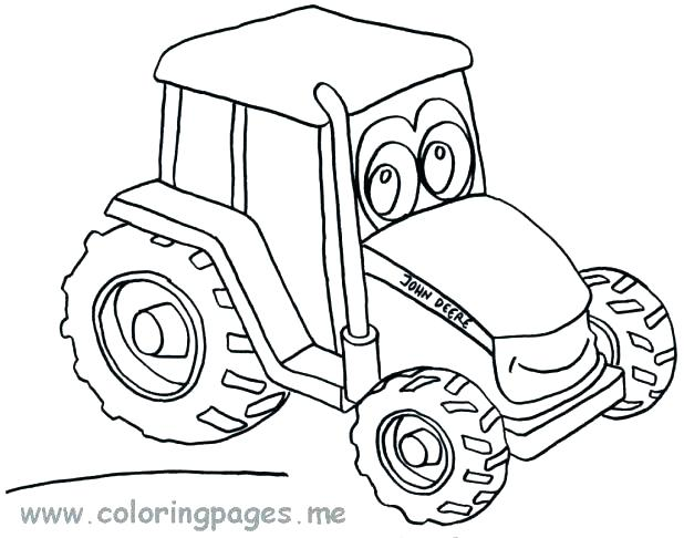 618x486 Printable Tractor Coloring Pages Tractor Coloring Page Tractor