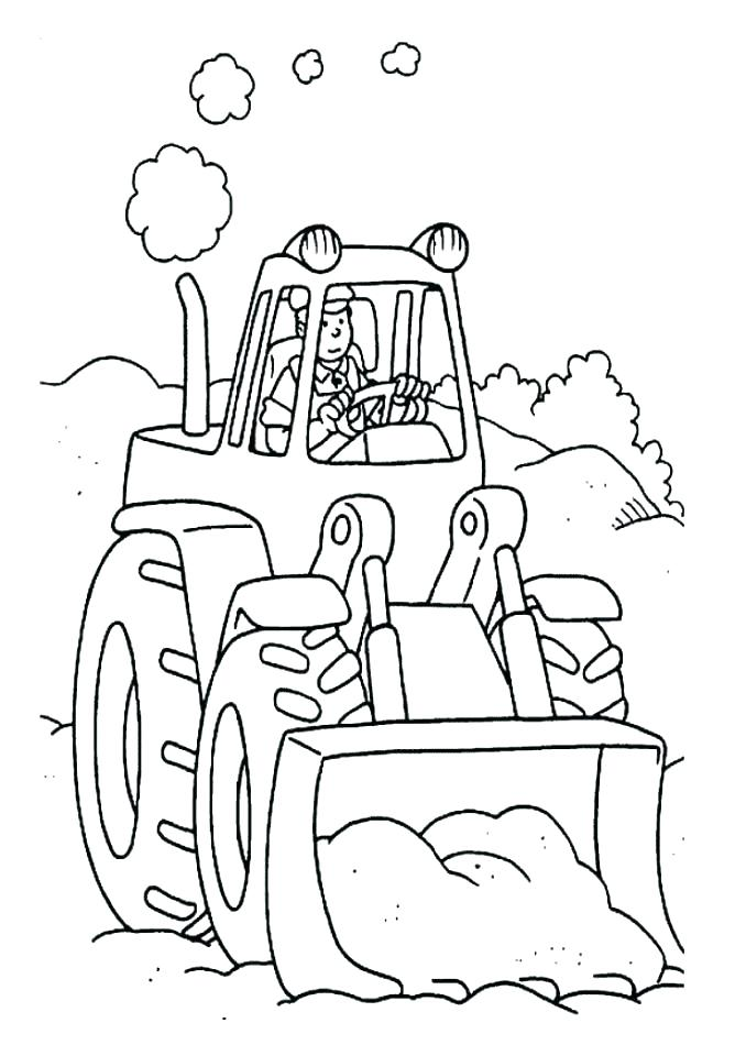678x960 Tractor Coloring Pages Printable John Coloring Pages Farm Tractor