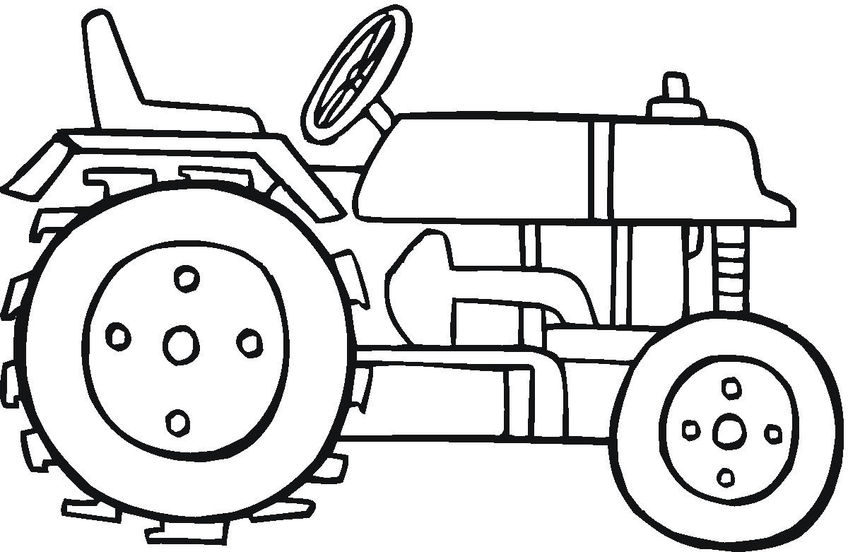 1200x781 Tractor Coloring Pages