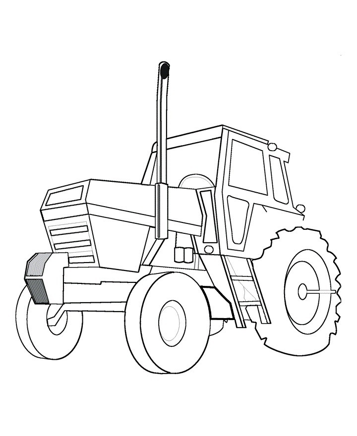 720x880 Tractor Coloring Pages Free To Print