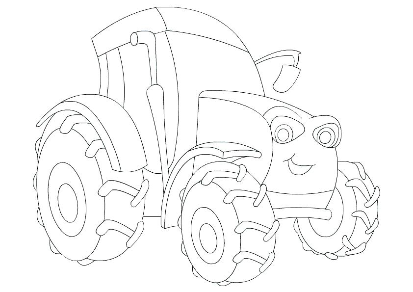 842x595 Farm Coloring Page For Kids Printable Free Equipment And Farm