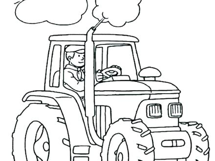 440x330 And Worksheets For And Kindergarten Dot To Dot Tractor Tractors