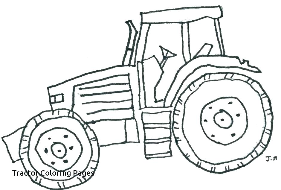 940x635 Tractor Coloring Pages For Toddlers Color John Printable Colorin