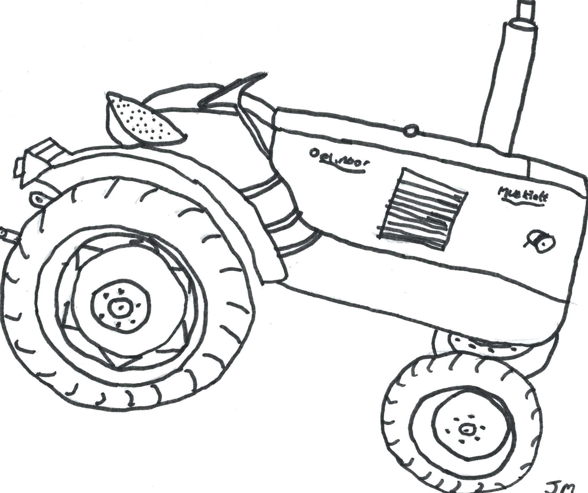 2044x1716 Coloring Pages Tractor Coloring Pages Transport Farm Tractors