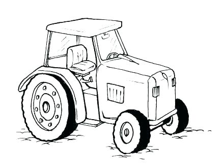 440x330 Tractor Trailer Coloring Pages Tractor Trailer Coloring Pages