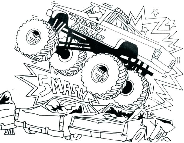 618x479 Coloring Pages For Boys Free Printable Truck Tractor Trailer Semi