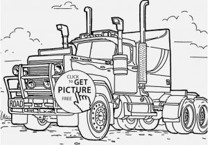 300x210 Semi Truck Coloring Pages Concept Important Camper Trailer