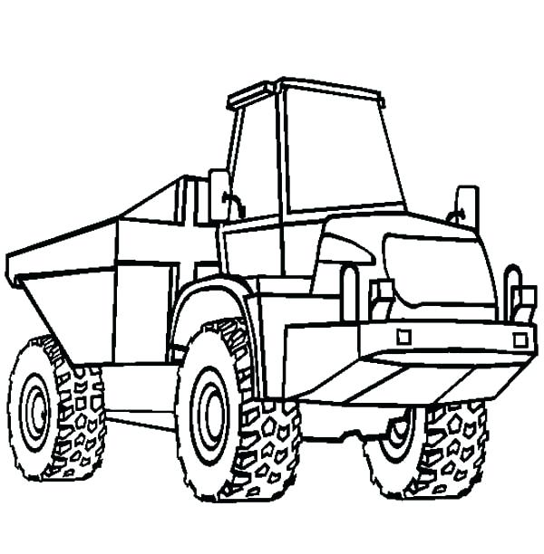 600x612 Truck And Horse Trailer Coloring Pages Amazing Long Tail Semi