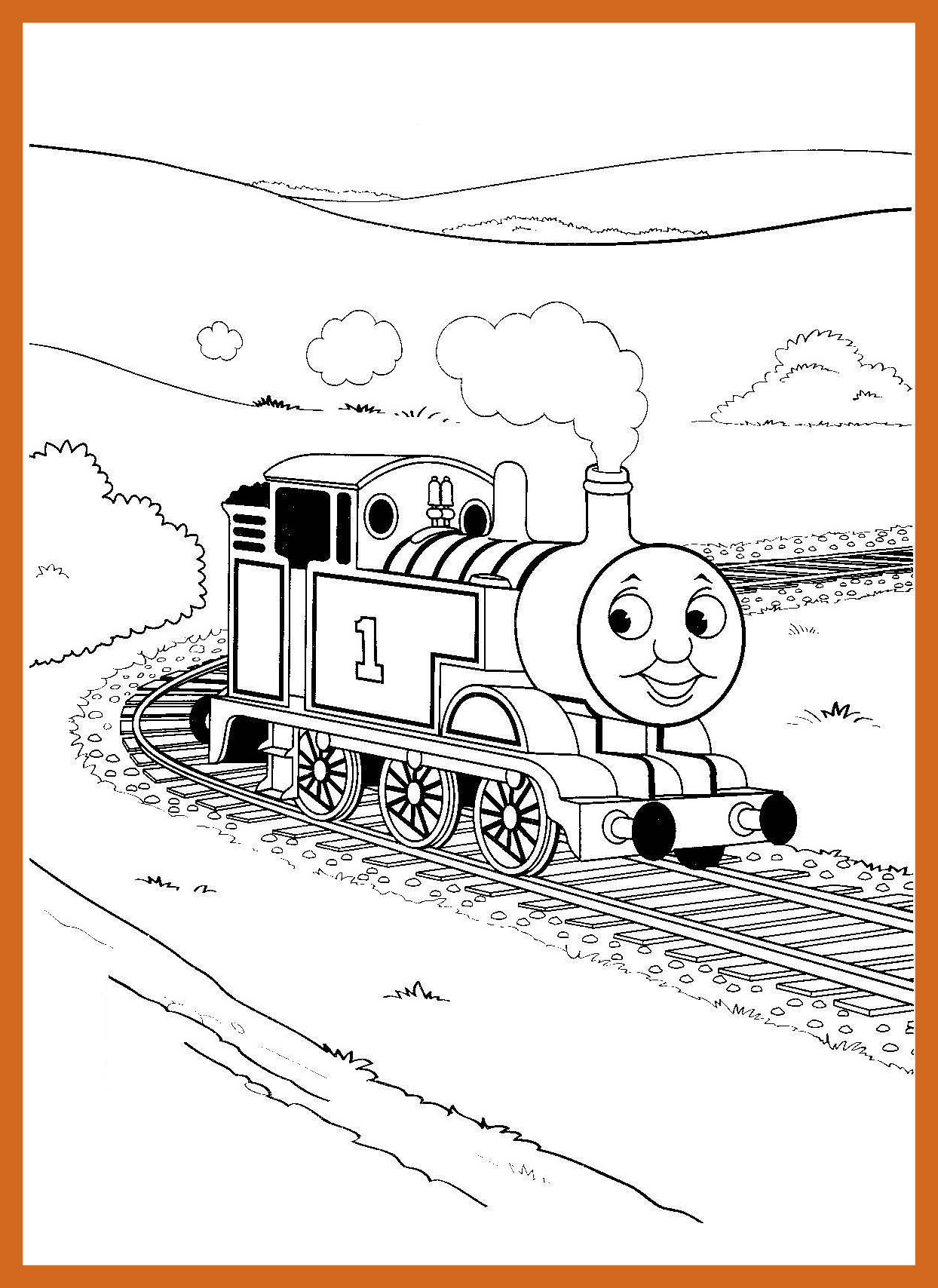 1244x1708 Astonishing Printable Train Coloring Pages For Kids Image Car