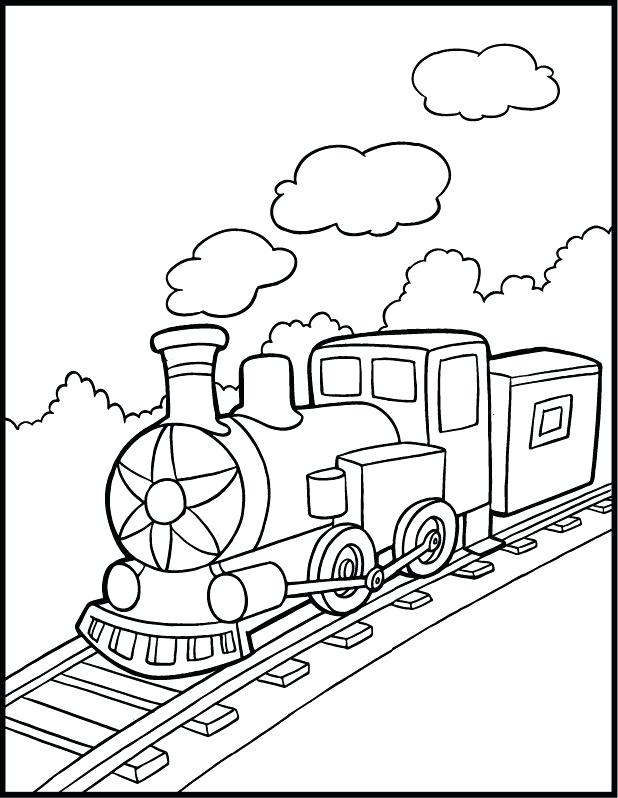 618x798 Free Printable Train Coloring Pages For Kids The Train Color Page