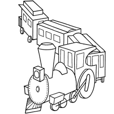 230x230 Top Free Printable Train Coloring Pages Online