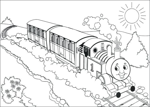 600x428 Printable Thomas Train Best The Train Coloring Pages Free Free