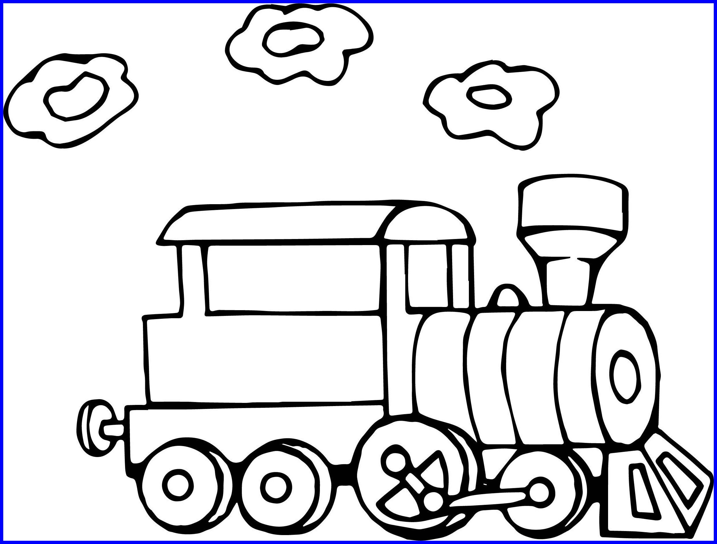 2488x1889 Fascinating Going Train Coloring Page Wecoloringpage Picture