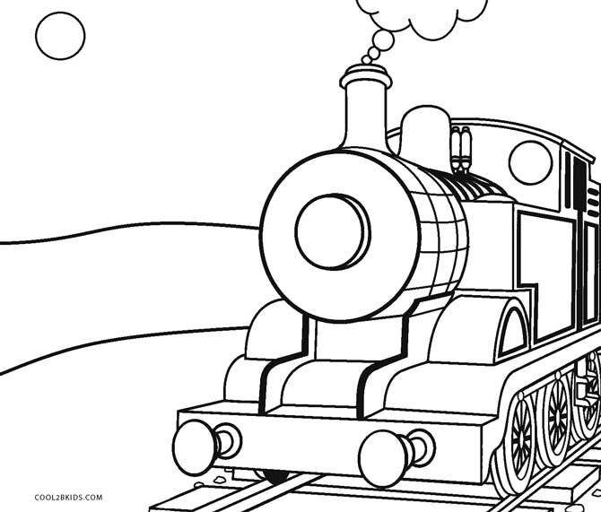 670x571 Free Printable Train Coloring Pages For Kids