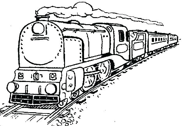 600x412 Freight Train Coloring Pages Train Coloring Pages Free Train