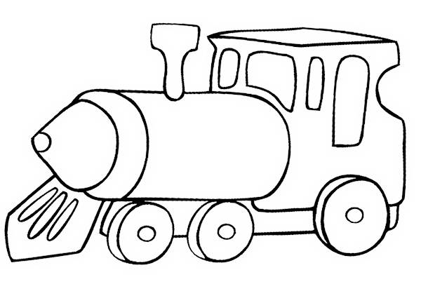 600x425 Train Coloring Pages