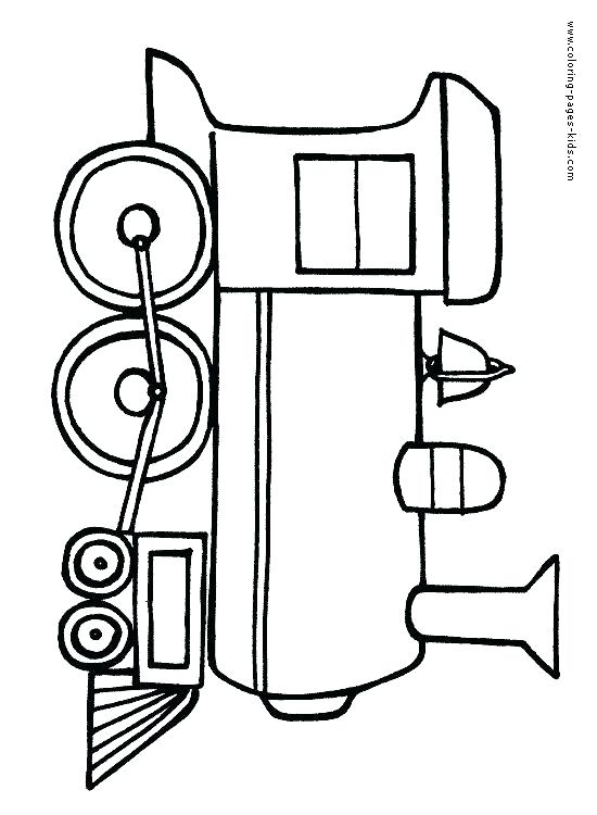 550x750 Train Pictures To Color With Train Printable Coloring Pages