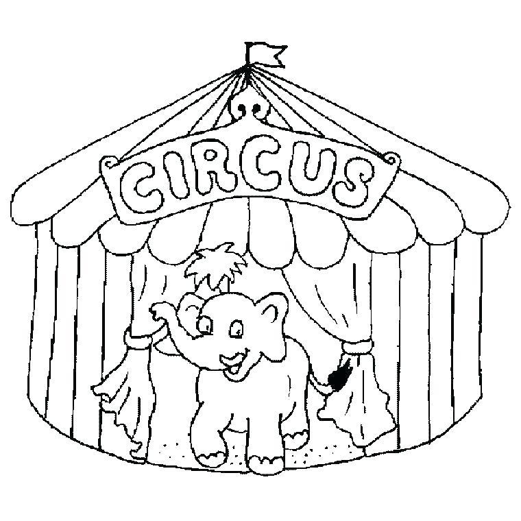 760x760 Circus Coloring Sheets Circus Coloring Page Perfect Circus