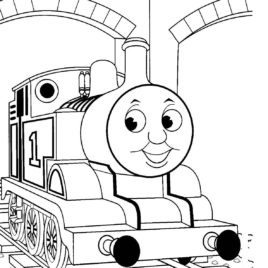 268x268 Preschool Train Page To Color Coloring Pages Trains