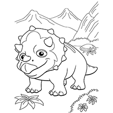 230x230 Top Free Printable Dinosaur Train Coloring Pages Online
