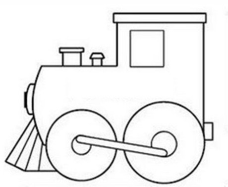 Train Coloring Pages For Preschoolers At Getdrawings Free Download