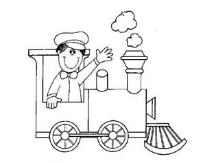 315x237 Land Transportation Coloring Pages For Kids