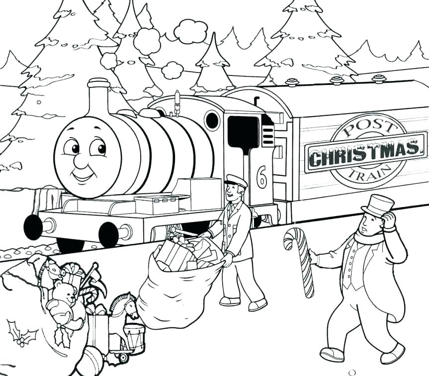 863x757 Thomas Train Coloring Page Majestic Looking The Train Coloring