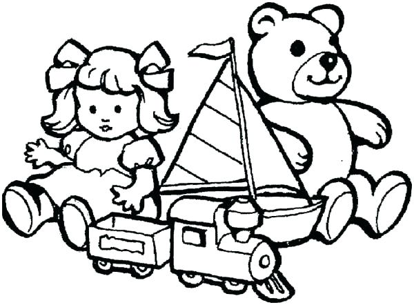 600x442 Toy Coloring Pages Train Toy Coloring Page Fnaf Toy Bonnie