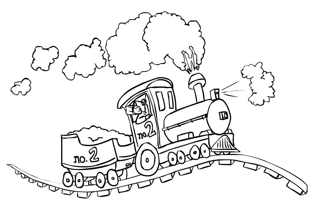 1024x666 Train Coloring Pages Free Train Coloring Pages For Toddlers