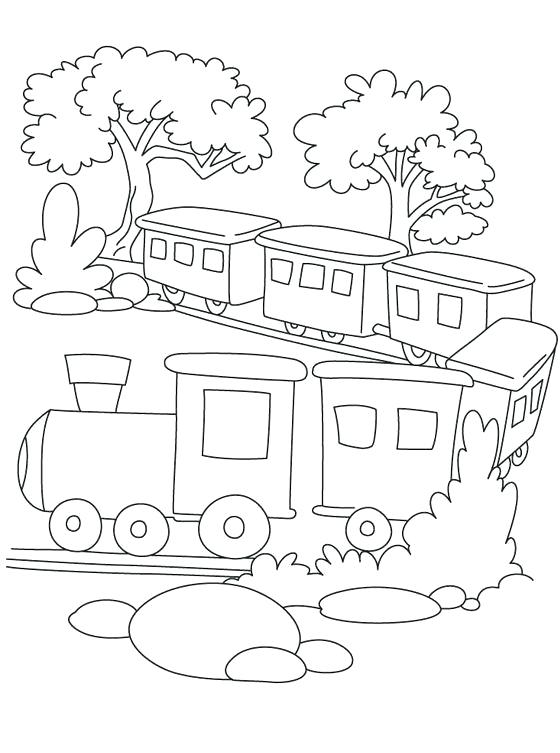 560x753 Trains Coloring Pages Train Printable C Pages Bullet Train C Pages